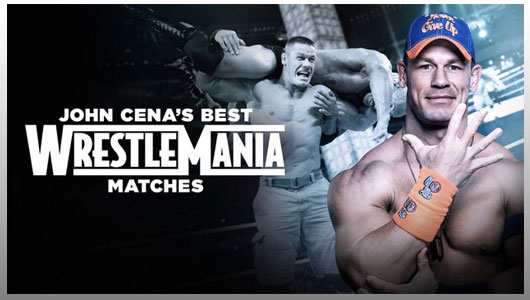 John Cenas Best WrestleMania Matches