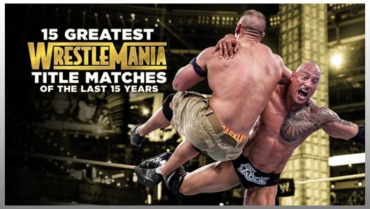15 Greatest WrestleMania Matches