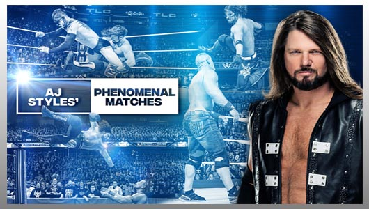 AJ Styles Most Phenomenal Matches