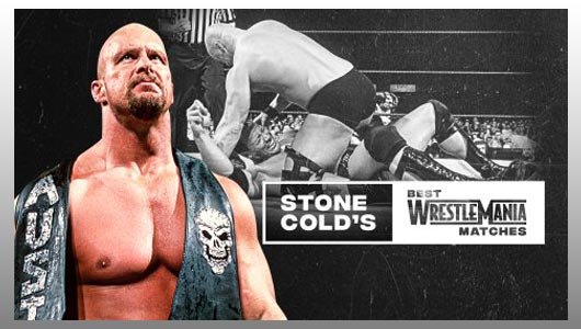 stone colds wrestlemania matches