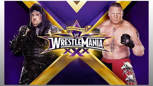 undertaker vs lesnar at wrestlemania