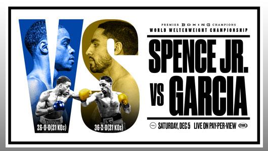 Spence Jr vs Danny Garcia