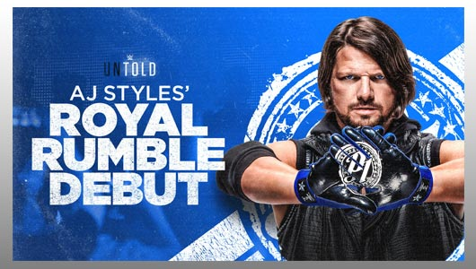 AJ Styles Royal Rumble Debut