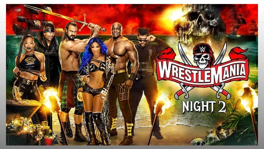 wrestlemania 37 night 2