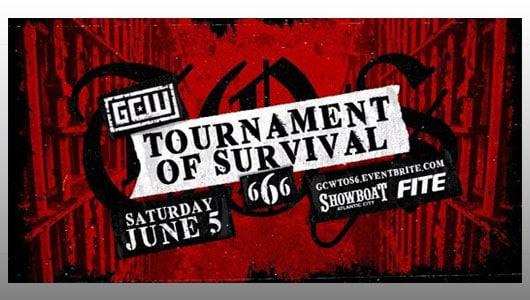 gcw tournament of survival 6