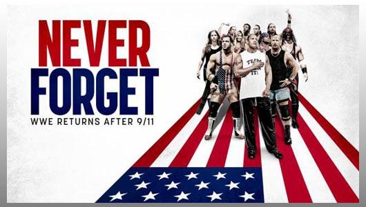WWE Returns After 9 11